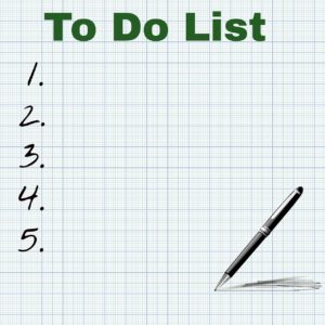 to do list meditation