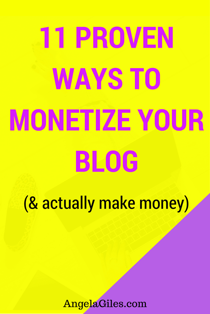 11 Proven Ways to Monetize Your Blog & Actually Make Money. Click through to read the whole thing & download the free checklist! monetize your blog, make money from your blog, make money blogging, how to make money from blogging, how to make money from a blog, how to monetize your blog, how to monetize a blog, monetizing your blog, blog monetization, how to blog for money, get paid to blog, how to make money blogging, blogging for money, how to earn money by blogging, how do bloggers make money