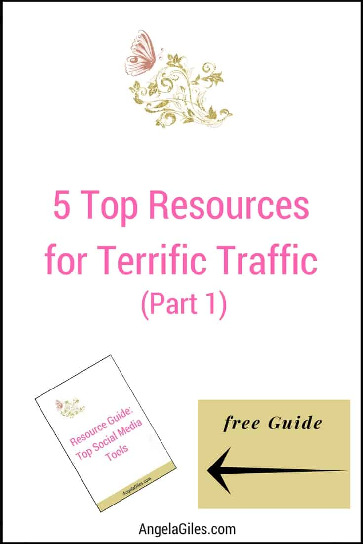 5 Top Resources For Terrific Traffic To Your Blog (Part 1, Social Media)