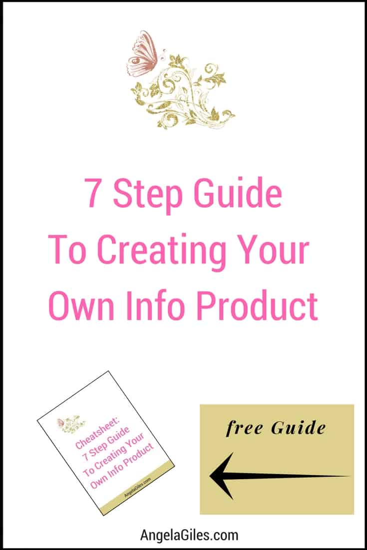 7 Step Guide To Creating Your Own Info Product