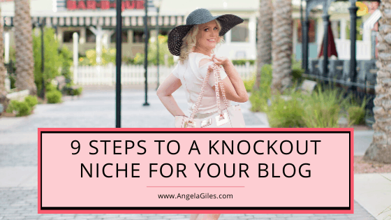 9 Steps To A Knockout Niche For Your Blog