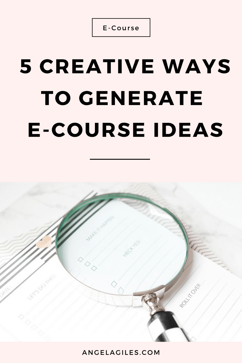 Stuck? Need an idea for creating an e-course? Get your creative juices flowing with these hot tips & before you know it you will have hundreds of e-course ideas for your next info product!  Remember to download the free checklist!,  #ecourse, #e-course, #createinfoproduct, #e-courseideas #ecourseideas, #ecoursedesign, #ecoursehowtomake