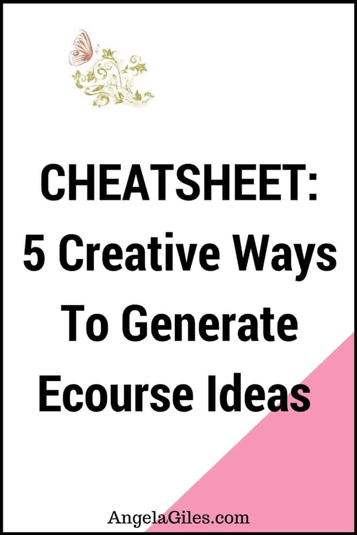 generate-ecourse-ideas