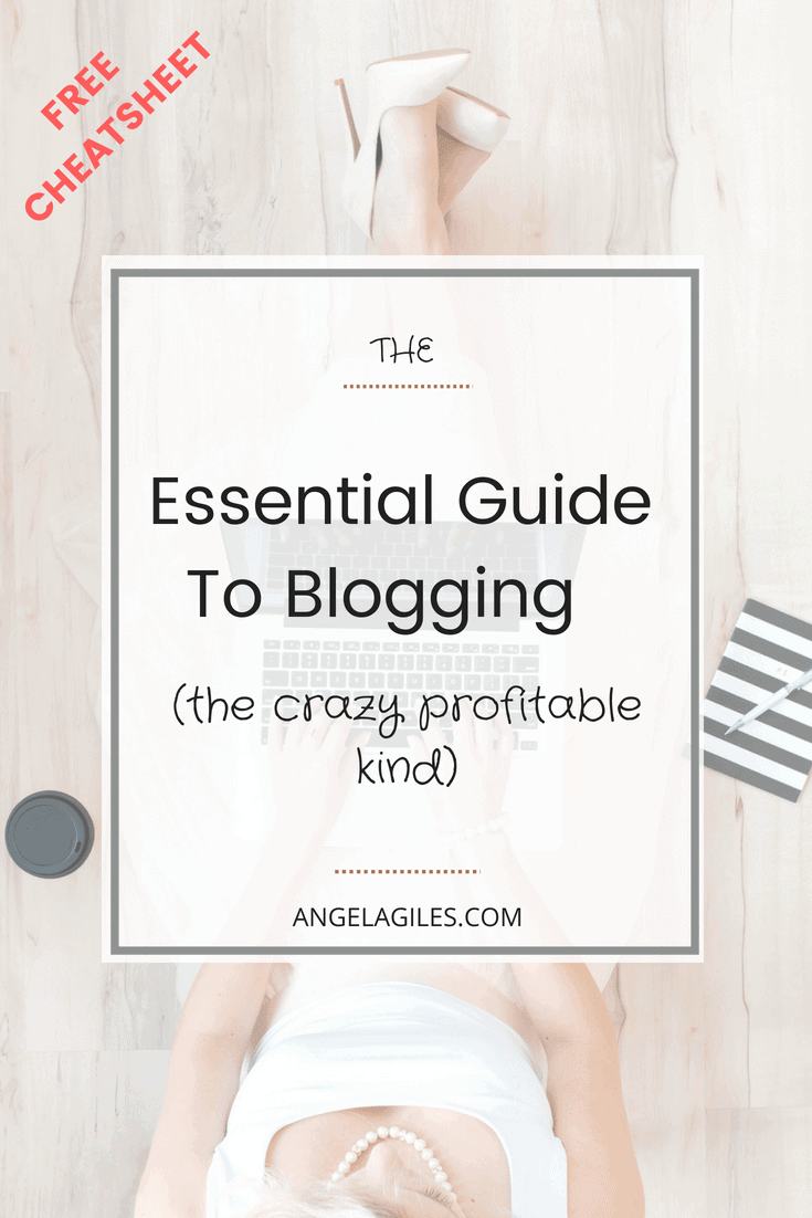 As glamorous as blogging sounds today, (you are reading this guide to blogging right?!) ...you might not be making the money you want! It can be extremely profitable & I am going to teach you how! Download this guide to blogging & get our free checklist! #bloggingguide, #bloggingforbeginners, #bloggingformoney, #bloggingtips, #howtostartablogandmakemoney, #howtostrartablogforfree #guideforblogging #bloggingguide