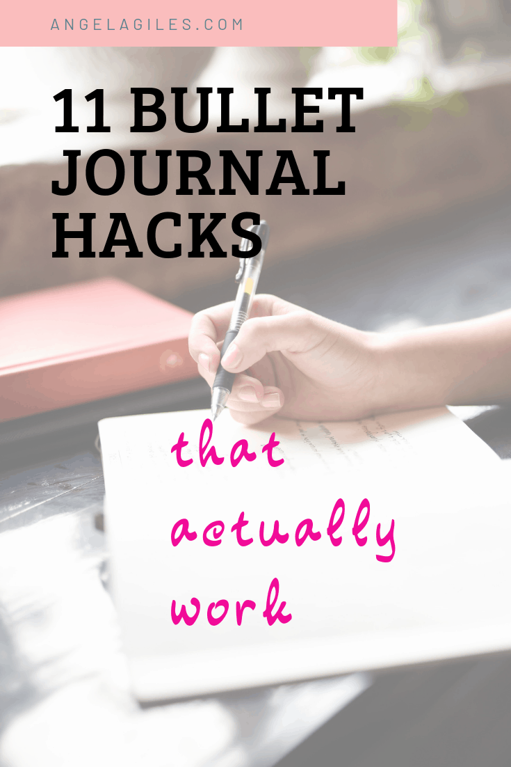 11 Bullet Journal Hacks That Actually Work