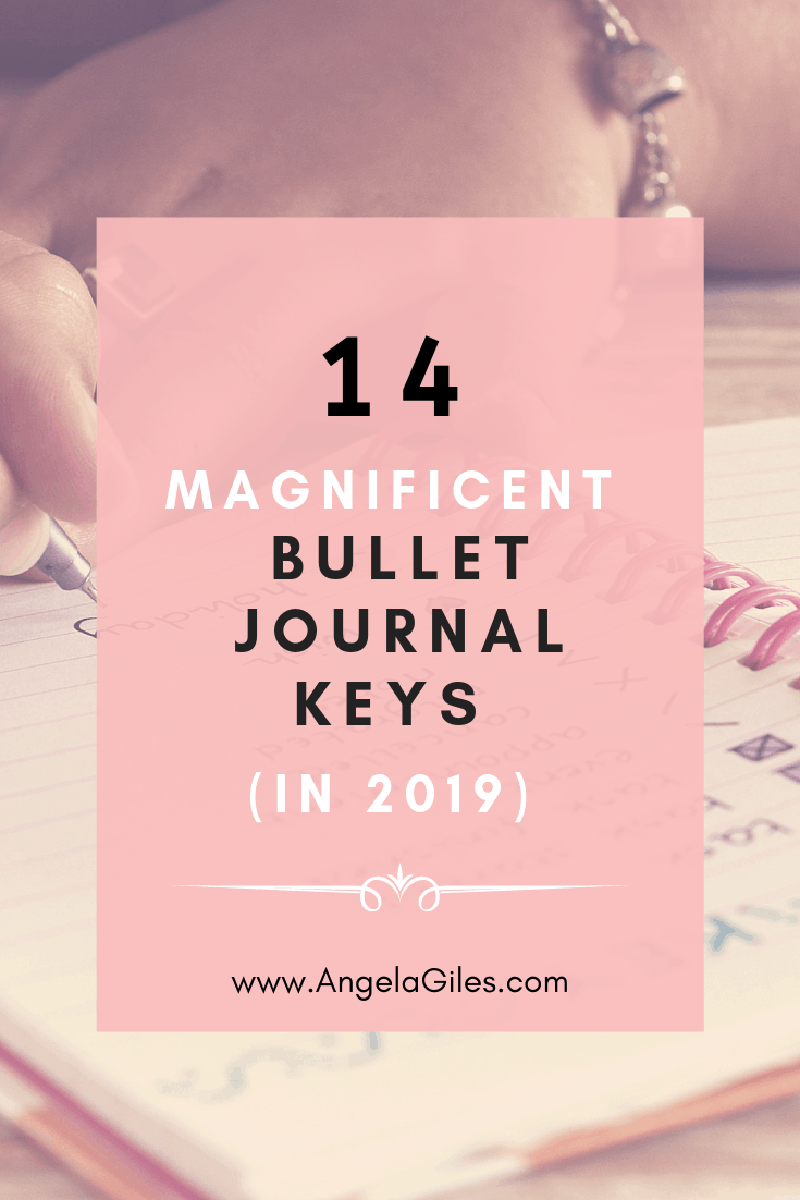 14 MAGNIFICENT BULLET JOURNAL KEYS AND HACKS TO USE THEM: In 2019