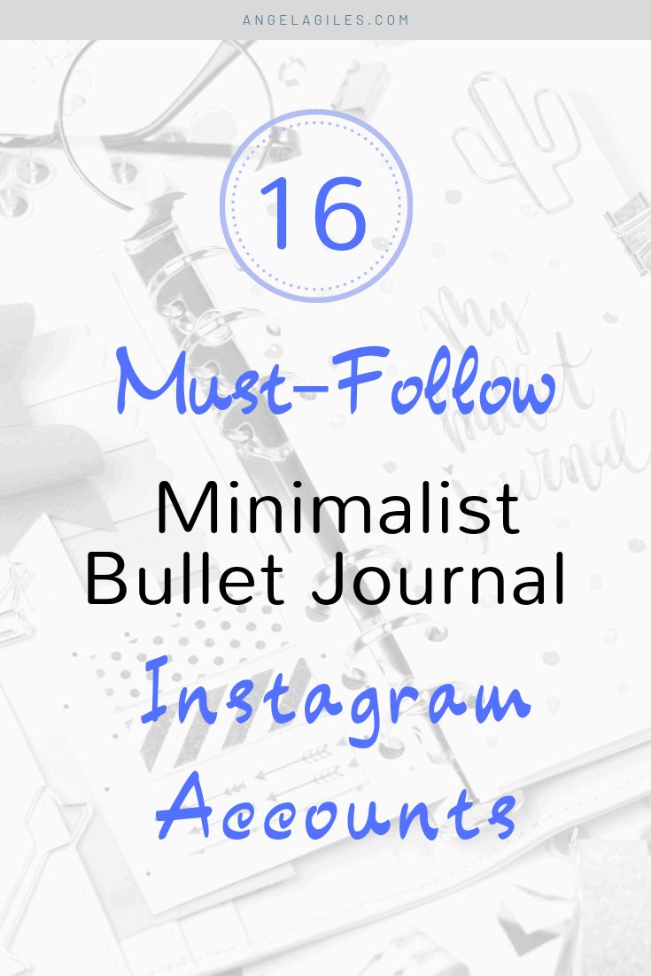 A collection of minimalist bullet journal spreads and layouts for bujo addicts to find inspiration for their planners.  These pages are perfect ideas for beginners, student or mom bloggers on a schedule who like simple aesthetic designs.  Follow these bujo inspo pages on Instagram in 2019.