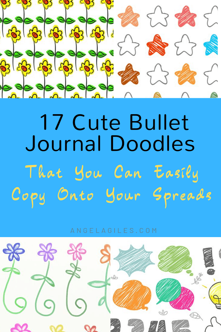 17 Cute Bullet Journal Doodles You Can Easily Copy on Your Spreads