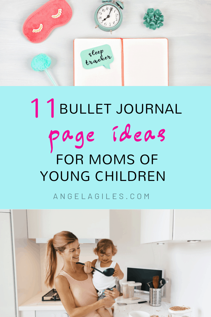 The absolute best collection of bullet journal page ideas for moms with young children to help with organisation. These bujo page ideas will give you inspiration to create colorful meal planners, self-care spreads, exercise & sleep logs, health trackers, daily routines, calendars and so much more!  