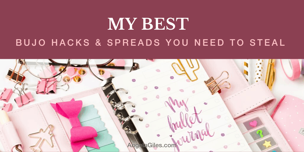 My Best Bullet Journal Hacks and Spreads