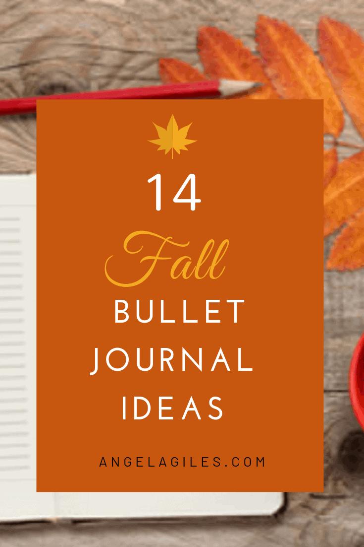 14 Beautiful Fall Bullet Journal Ideas