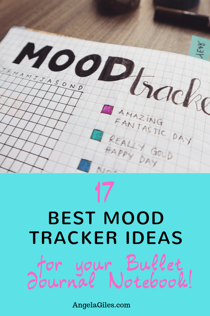 17 Best Mood Tracker Ideas For Your Bullet Journal Notebook