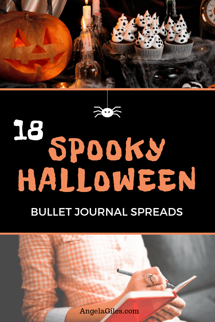 The spookiest collection of Halloween Bullet Journal spreads, trackers, pages, layouts, trackers & doodles.  Bujo planner addicts beware the best Halloween Bullet Journal themes are here in 2019!