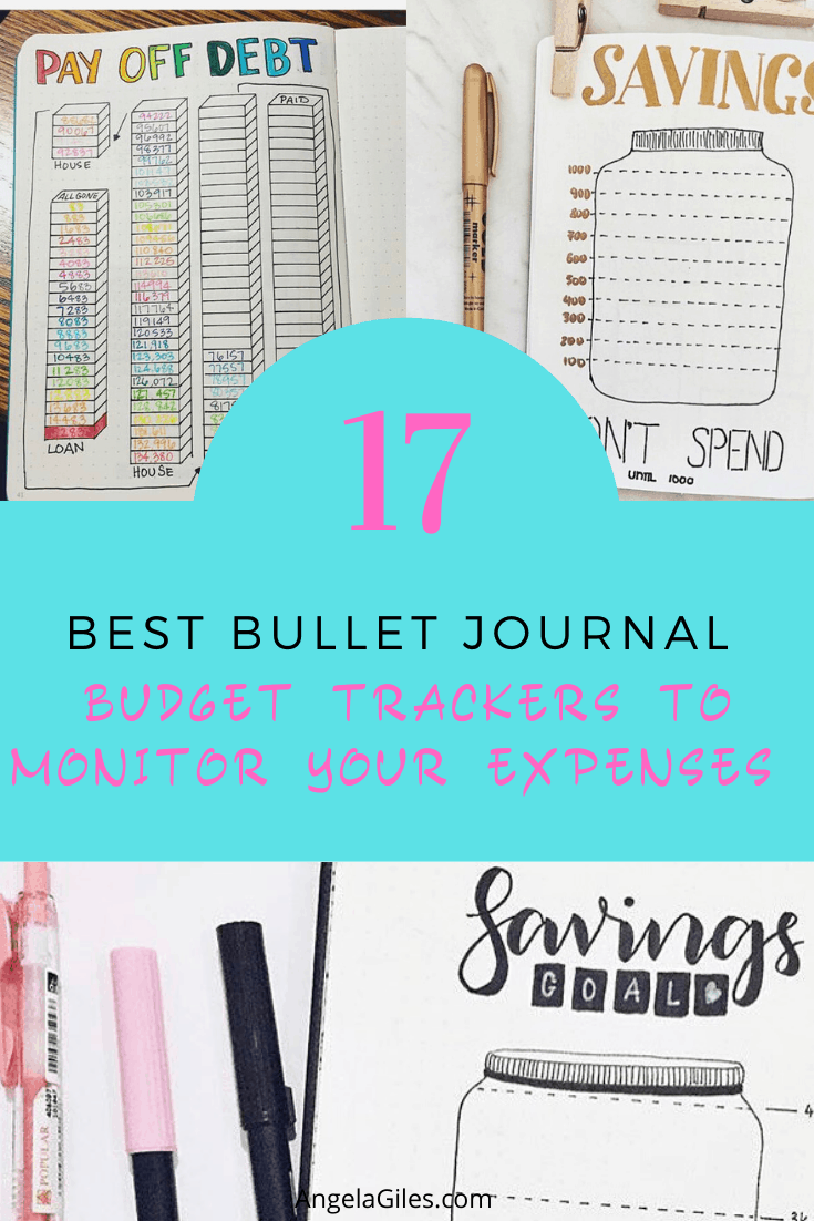 17 Best Bullet Journal Budget Trackers to Monitor Your Expenses