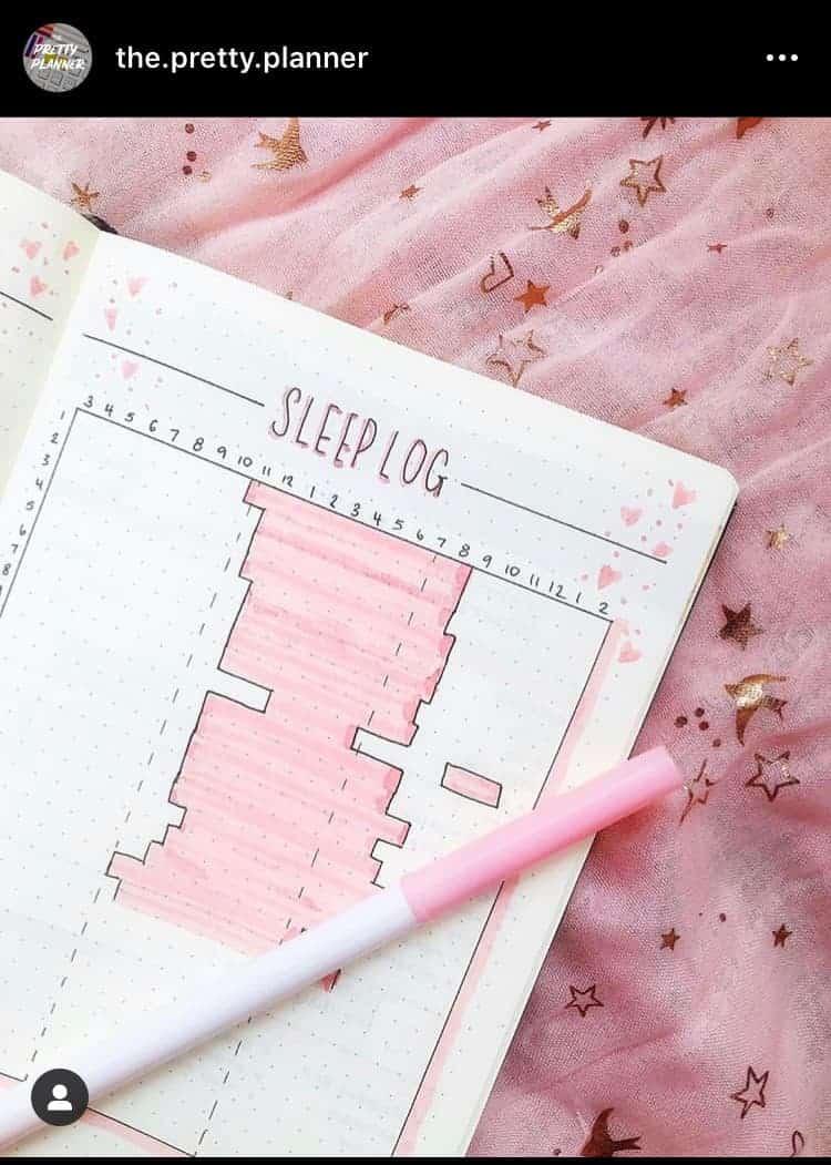 19 Bullet Journal Sleep Tracker Ideas For A Healthy Sleep