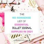 bullet-journal-supplies-2021