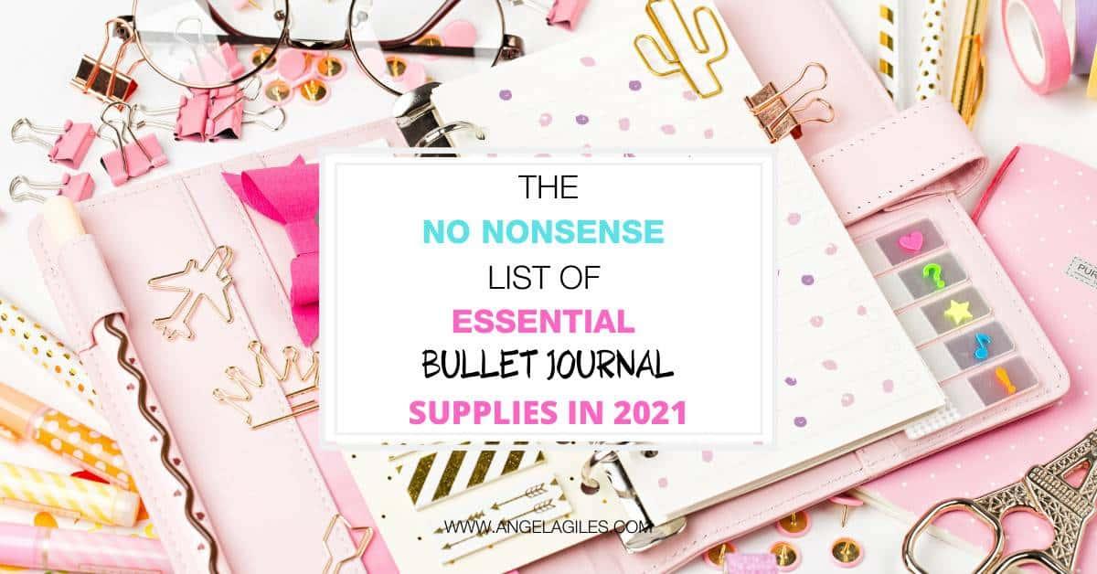 The Best Bullet Journal Supplies For Beginners
