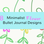 18-minimalist-flower-bullet-journal-designs
