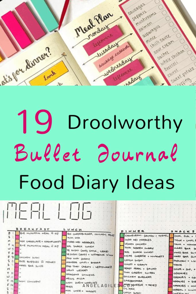 19-droolworthy-bullet-journal-food-diary-ideas-pinterest