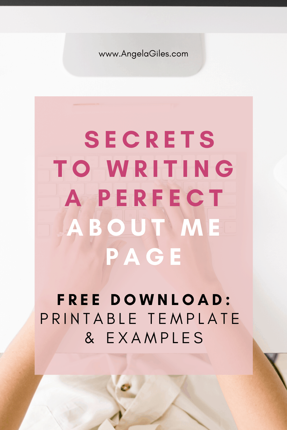 How to write the perfect blog about me page.  Complete with examples, ideas and a printable template.  Perfect for the creative blogger who wants to turn visitors on their about me page into raving fans who come back to their website time and time again.