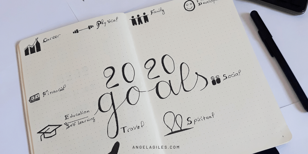 How to Create a Bullet Journal Vision Board
