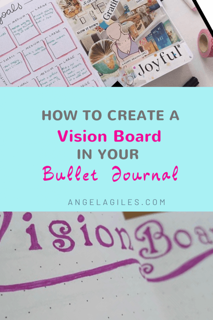 bullet-journal-vision-board