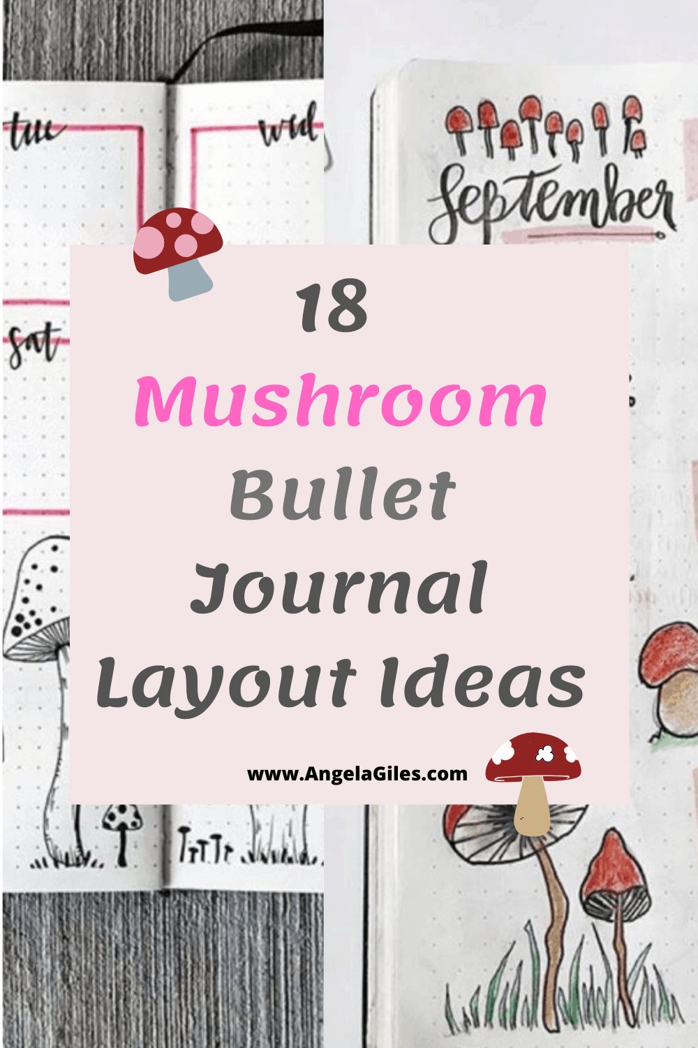 18 Best Mushroom Bullet Journal Layout Ideas for 2020