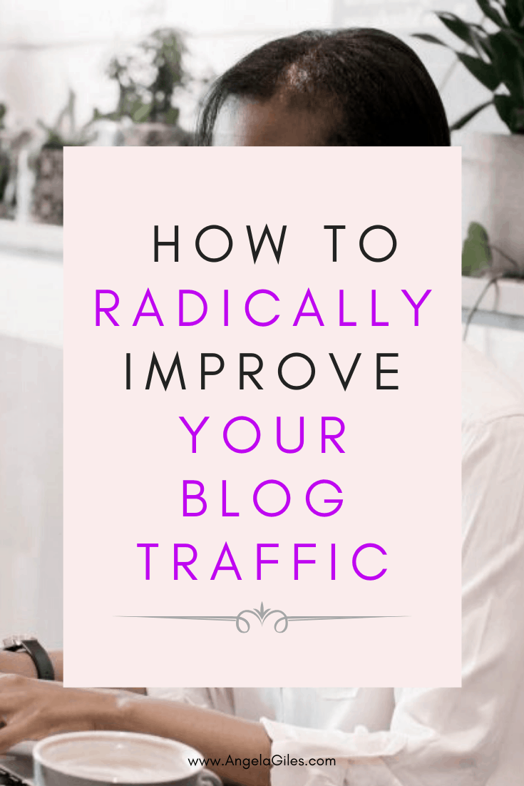 Radically increase your blog traffic using these tips!  I went from 200 to 1500 blog page views a day! (at the time I pinned this pin on Pinterest 😉  And it all came down to learning exactly how to increase my blog page views! You can do the same thing!
