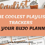 coolest-playlist-trackers-for-your-bujo-planner