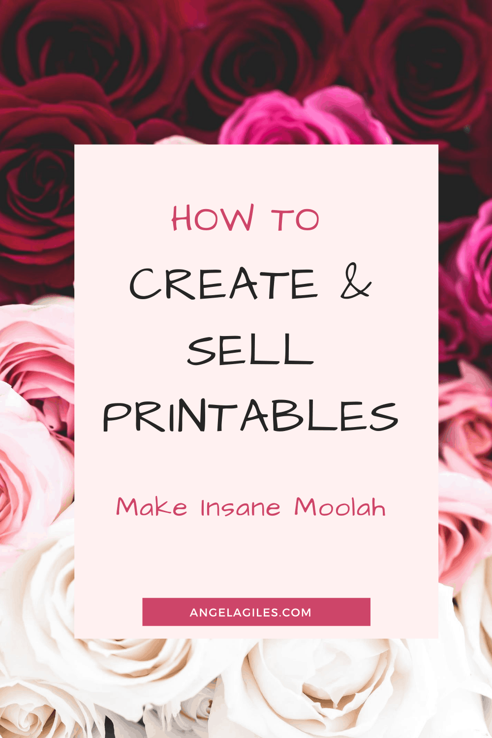 How to Create and Sell Printables on Your Blog