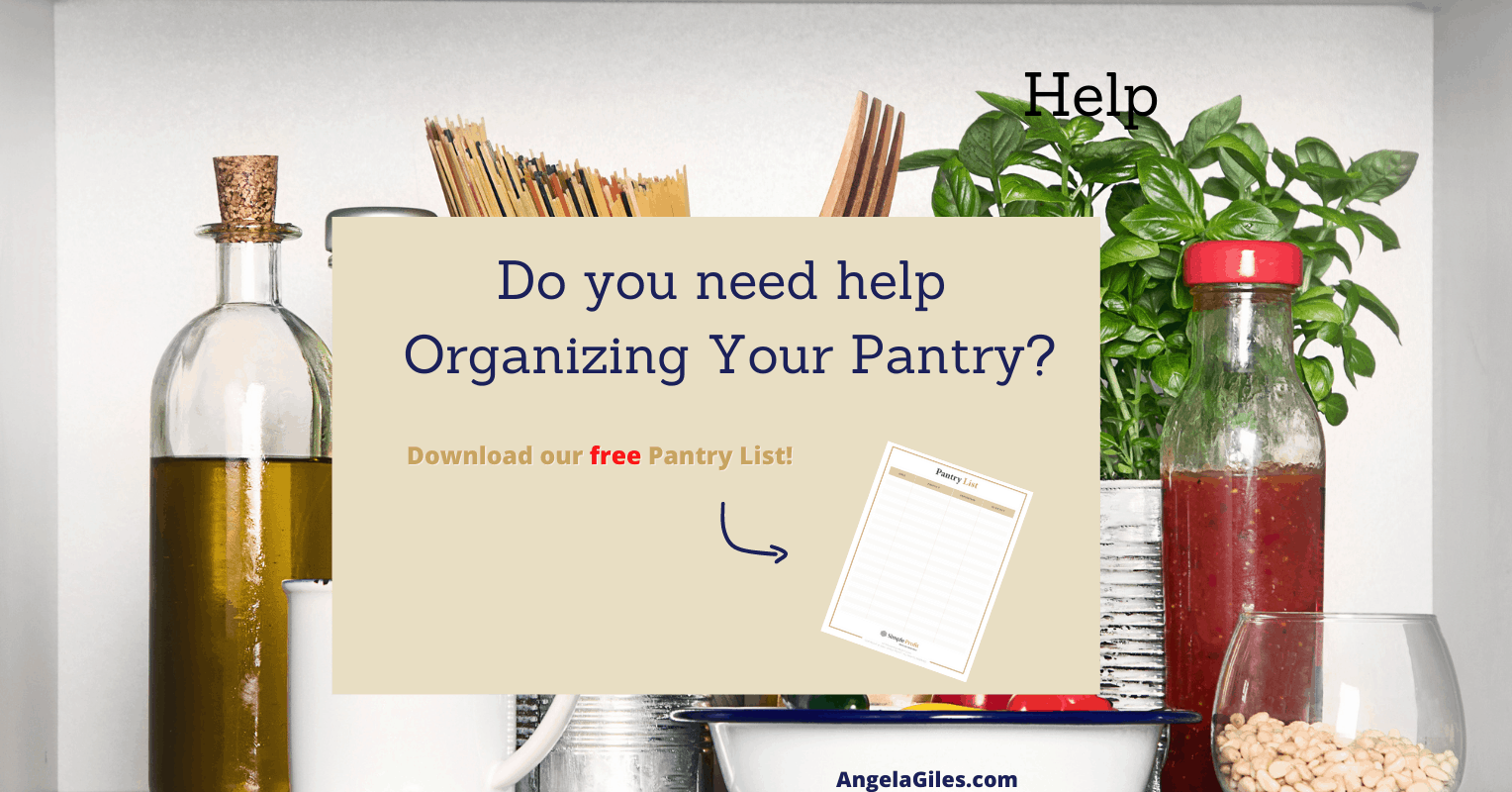 Free Printable Pantry List Template: Master Inventory And Be Organized