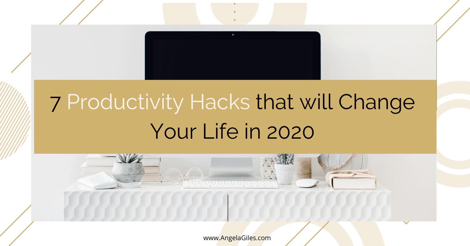 7 Productivity Hacks that will Change Your Life in an Instant