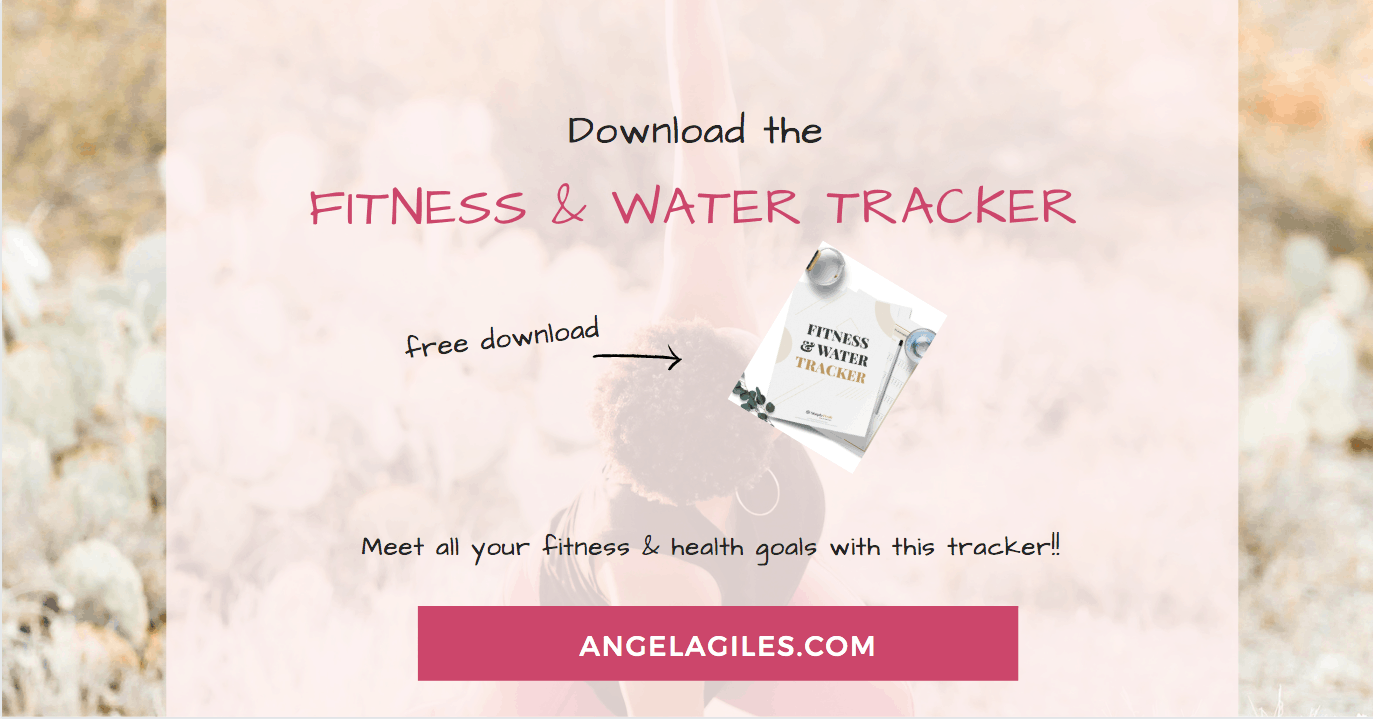 Free Fitness And Water Tracker Printable