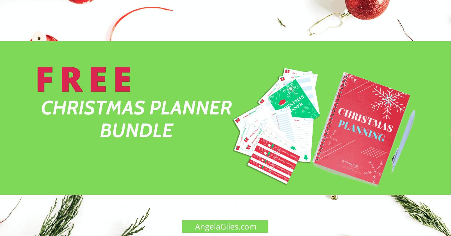 Free Christmas Planner Bundle – Organize Christmas