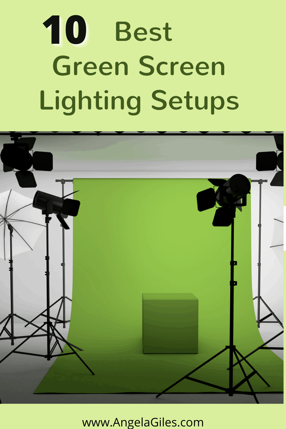 The Top Ten Best Green Screen Lighting for Super Clear Video and Photos