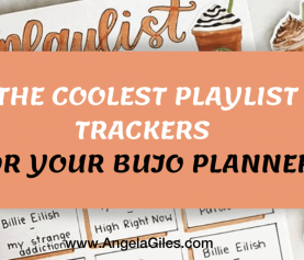 The Coolest Playlist Trackers for Your BuJo Planner